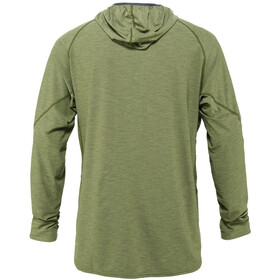 NRS H2Core Silkweight Pull à capuche Homme, olive